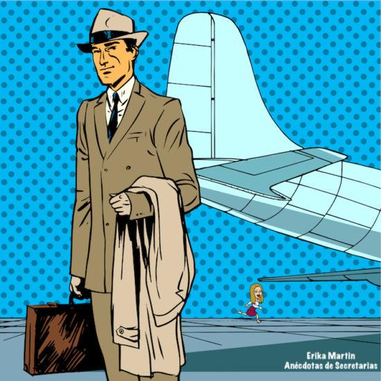 hombre negocios aeropuerto