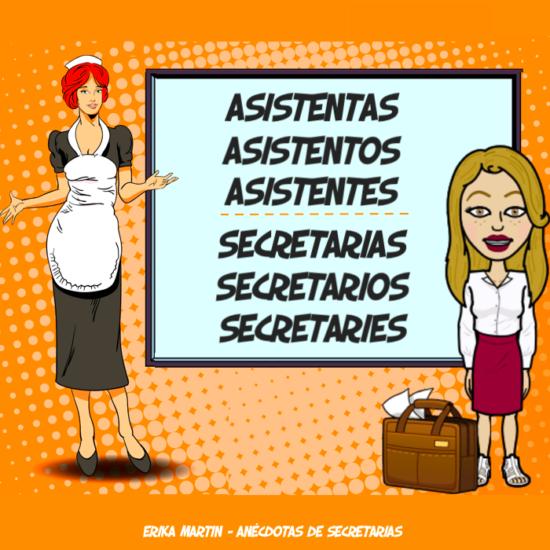 asistentas vs asistentes