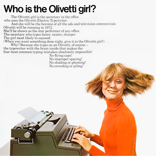 olivetti-girl