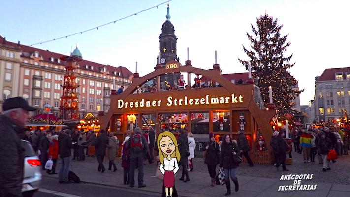 Dresdner Striezelmarkt entrada