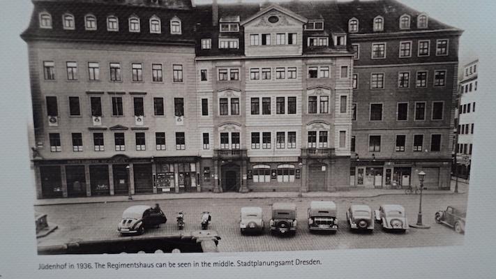 Neumarkt Judenhof Dresden 1936