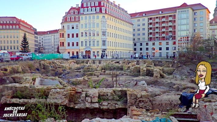 Neumarkt Judenhof Dresden 2014