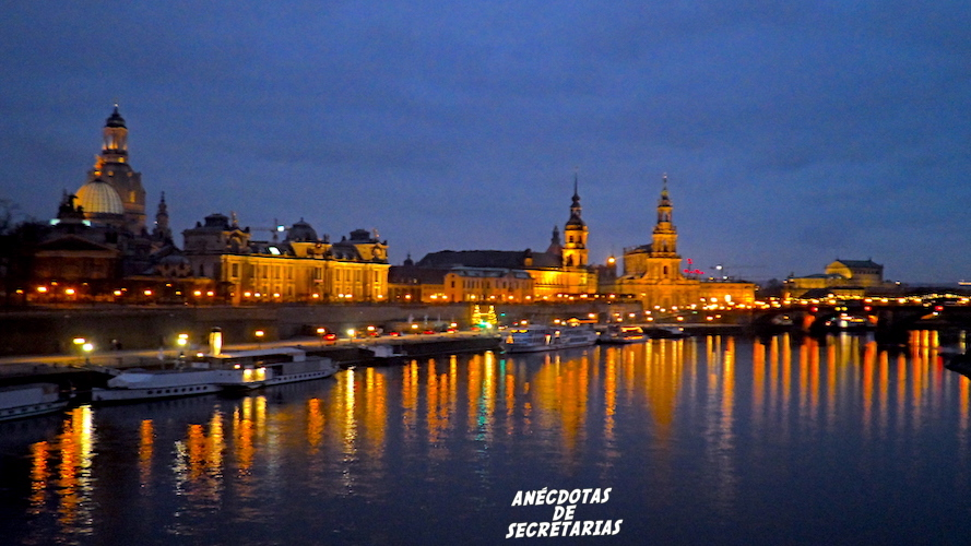 Panoramica Dresden Sajonia Alemania