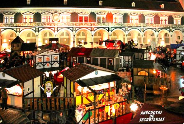 Weihnachtsmarkt im Mittelalter