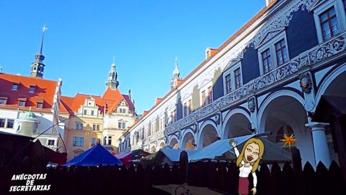 Mittelalter Weihnachtsmarkt am Stallhof Dresden