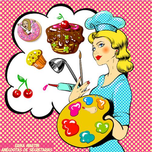 cocinera repostera pastelera