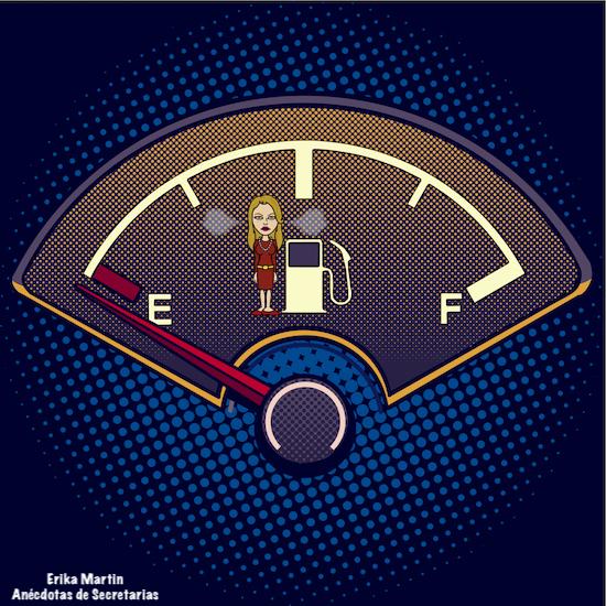 deposito combustible vacio