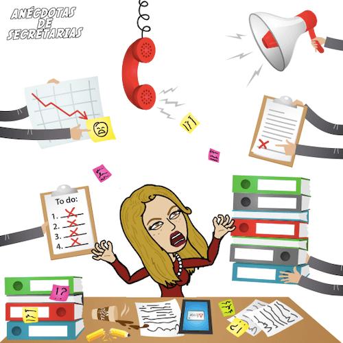 estres por exceso de trabajo
