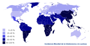 mapa mundial impacto intolerancia-lactosa