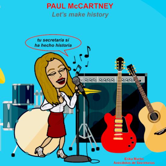 secretaria paul mccartney