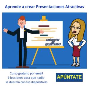 Curso gratis crear presentaciones atractivas