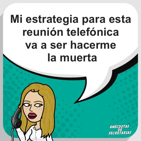 estrategia para reuniones telefonicas