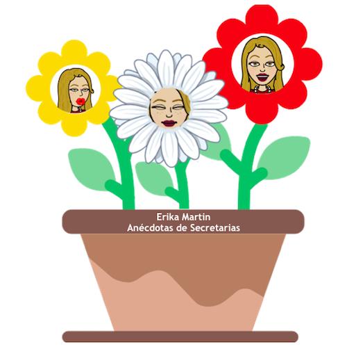 recepcionista florero
