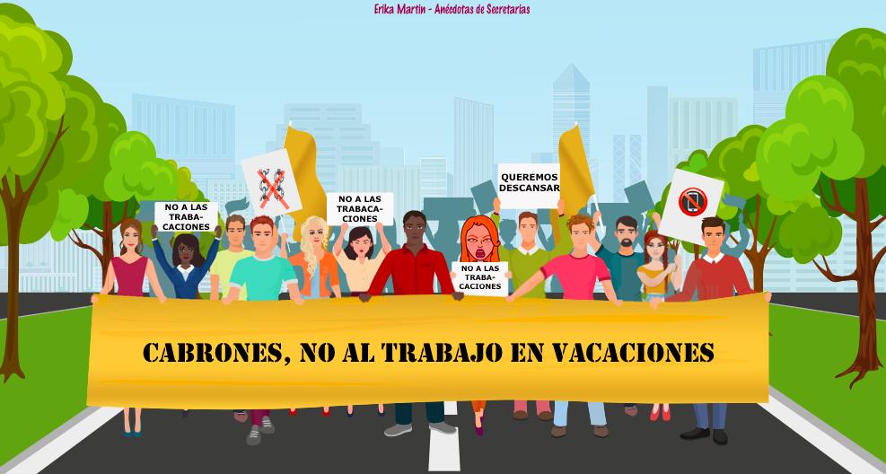 protesta contra trabacaciones