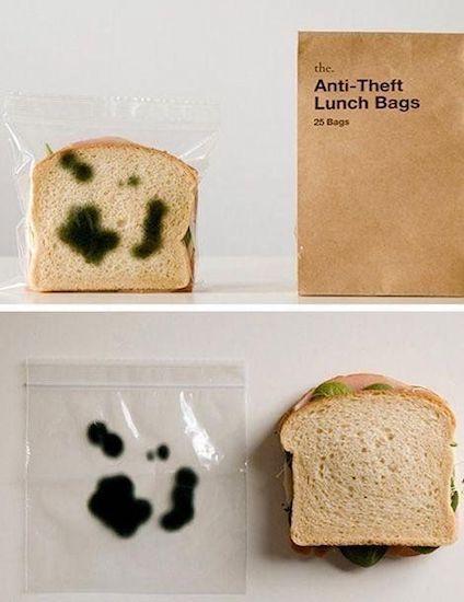 bolsa antirrobo comida