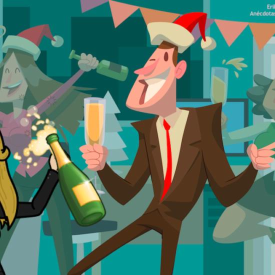 ideas fiesta navidad empresa
