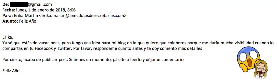 malas practicas blogging
