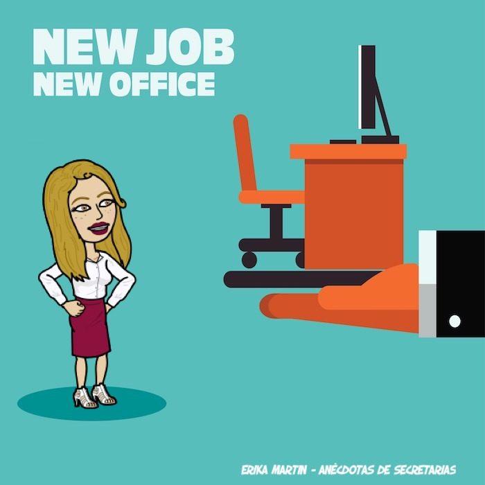 nuevo trabajo nueva oficina