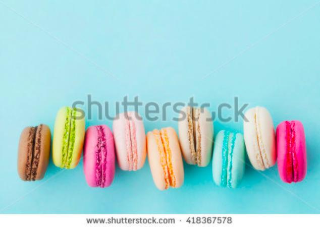 macarons marca agua shutterstock