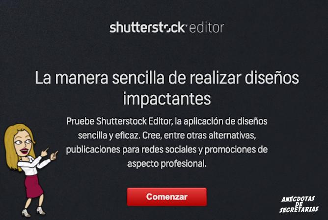 Shutterstock editor