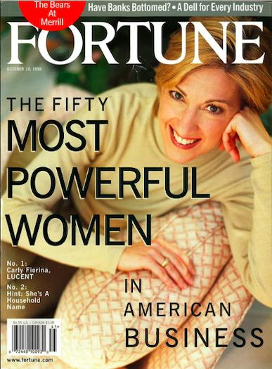 Portada revista Fortune Carly Firoina