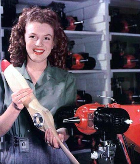 Marilyn Monroe en Radioplane