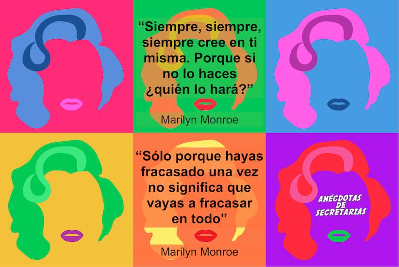 frases motivacion y fracaso Marilyn Monroe