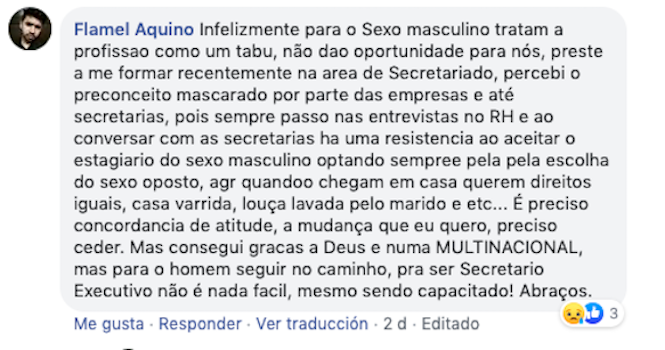 ser secretario en brasil