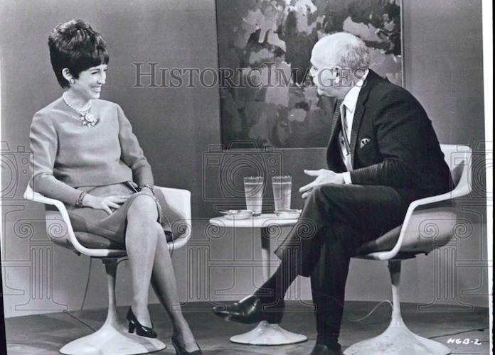 Helen Marie Gurley entrevistada en la tele