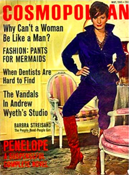 Portada revista Cosmopolitan 1965
