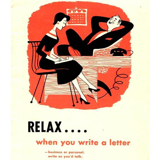 anuncio vintage taquigrafia