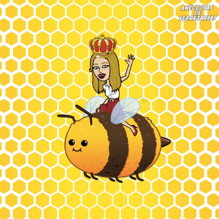 abejas reina en la empresa