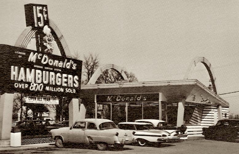 Primer restaurante de McDonalds